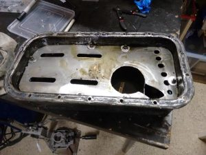Old Sump with Windage Tray