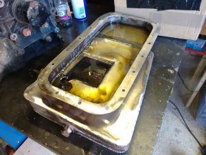 Oil Leak Down Test